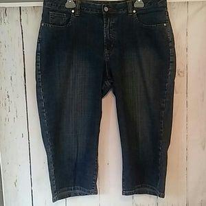 RQT Capri Jeans sz 16